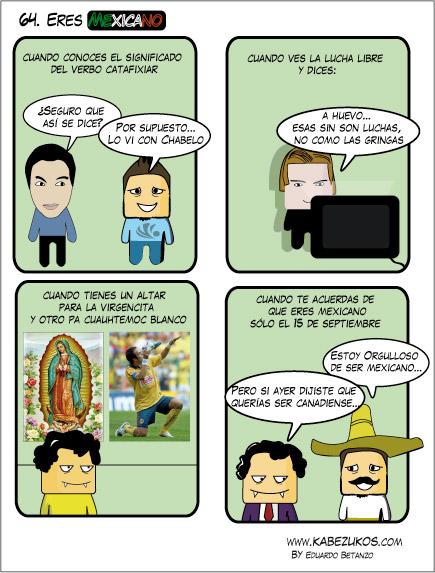 Kabezukos eres mexicano