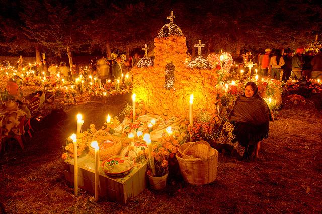 Día de Muertos en Janitzio, la puerta del cielo