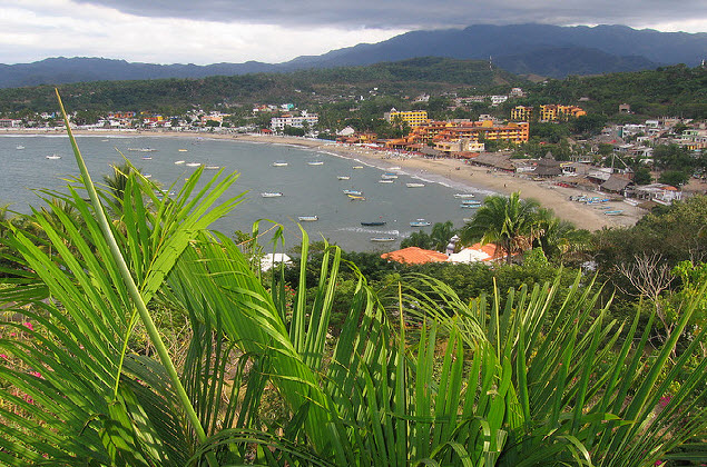 Vista de Guayabitos