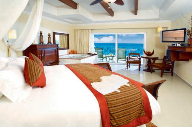 hoteles para adultos the royal playa del carmen habitacion
