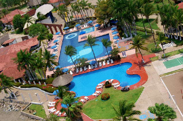 Hotel Qualton Ixtapa Fotos