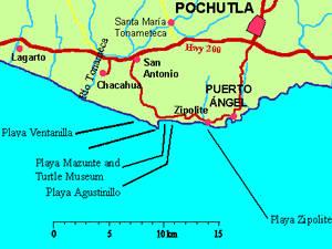 mapa zipolite