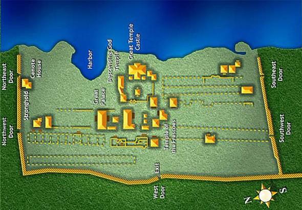 mapa de tulum
