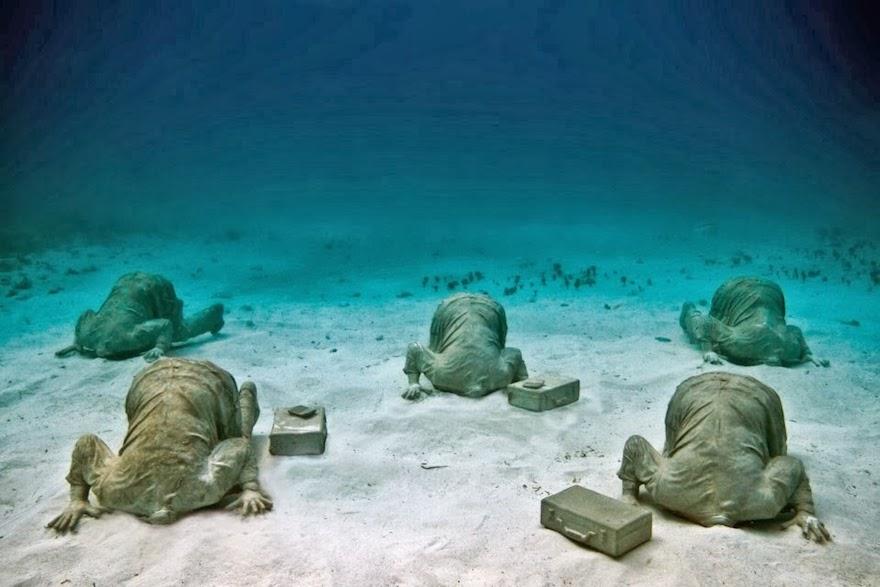 El Extraordinario Museo Subacuático de Arte en Cancún (MUSA)