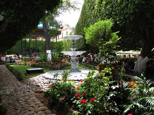 Jardín de la Unión Guanajuato