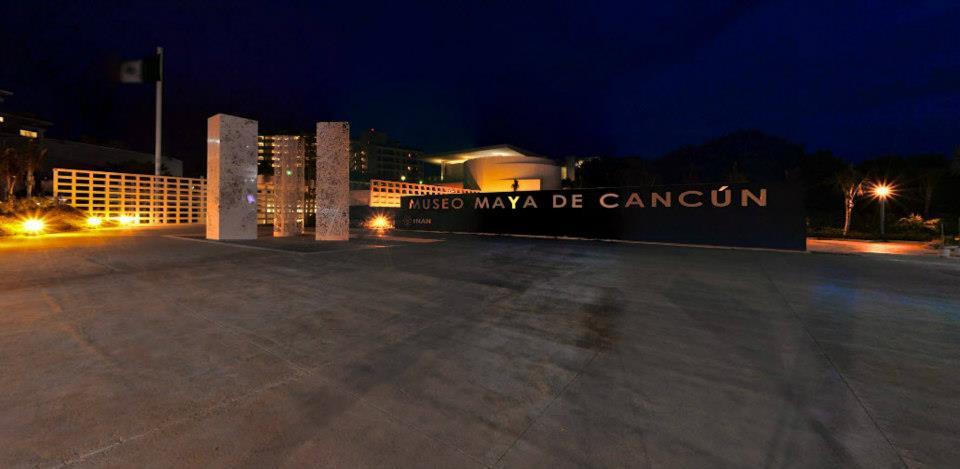 entrada al museo maya de cancun