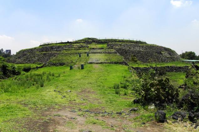 cuicuilco zona arqueologica