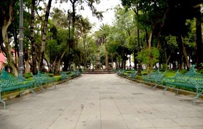 Jardin hidalgo coyoacan for Jardin hidalgo