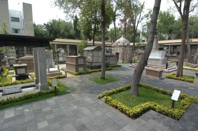 museo panteon san fernando ciudad de mexico
