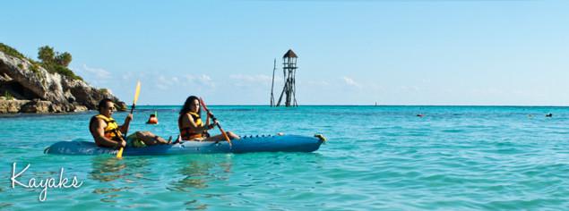 parque garrafon kayaks