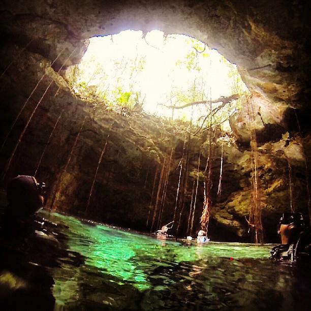 Cenote TajMahal Riviera Maya