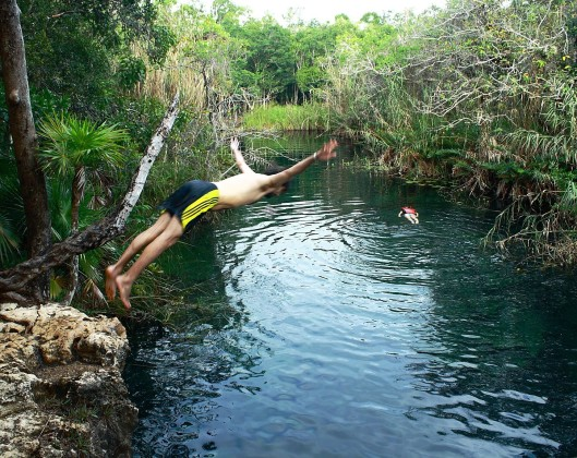 cenote escondido riviera maya