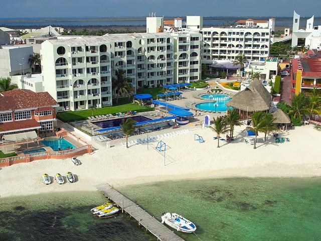 Aquamarina Beach Cancún, de los hoteles baratos en Cancún