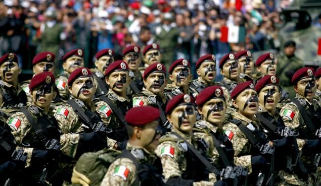 desfile militar cd de mexico