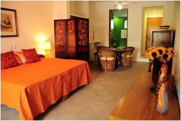 Villamercedes Petit Hotel, Puerto Vallarta, Hoteles economicos en Vallarta, restaurantes, galerias, malecon, resort en Puerto Vallarta2