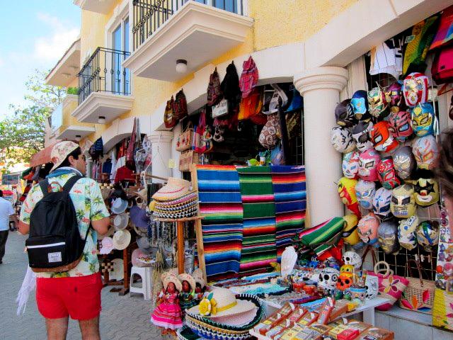 isla mujeres compras