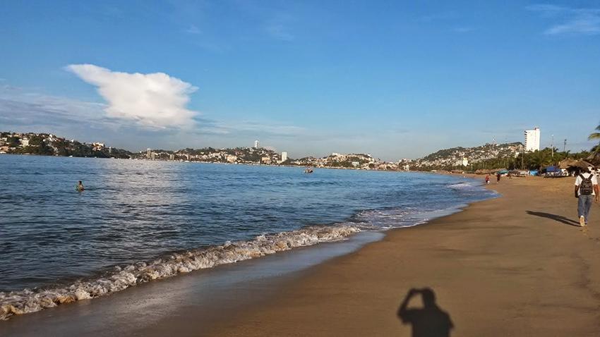 Playa el secreto Acapulco