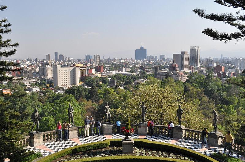 Vista de la Ciudad desde Chapultepec