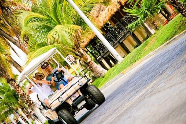 isla mujeres carrito golf