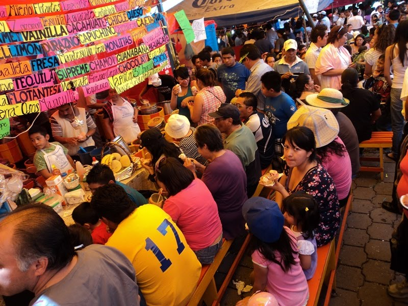 Feria de las Nieves Xochimilco