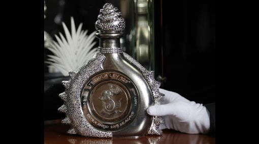 Botella de Tequila mas cara del mundo