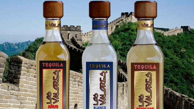 Tequila en China