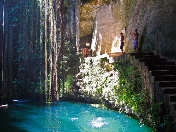Clavados Cenote Ik Kil