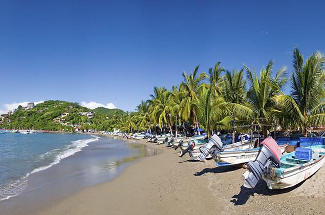 Playa Principal Ixtapa