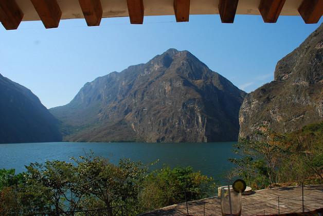 Vista panoramica Cañón
