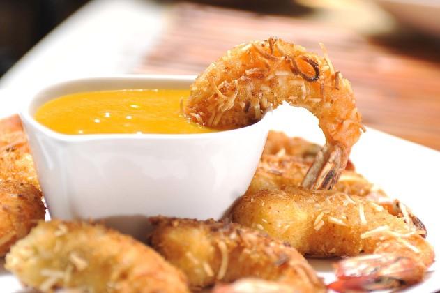 camarones al coco
