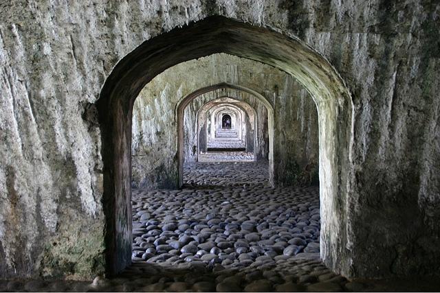 Arcos en San Juan de Ulúa