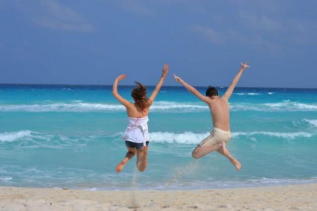 Llegando a cancun