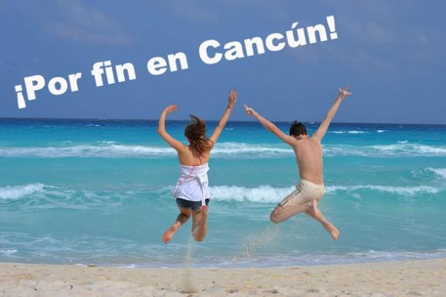 Por fin en Cancun