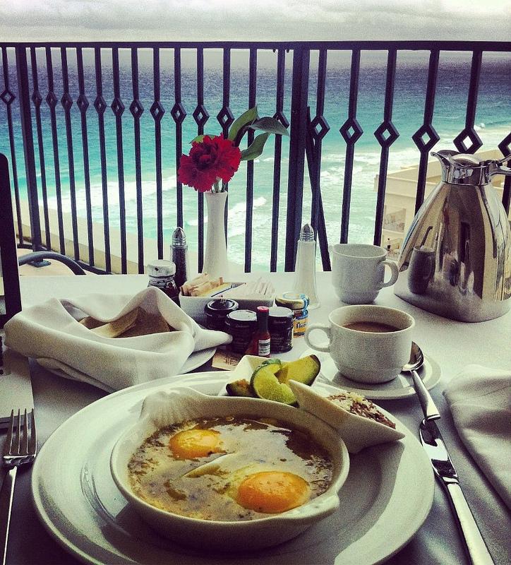 Desayunar en Cancun