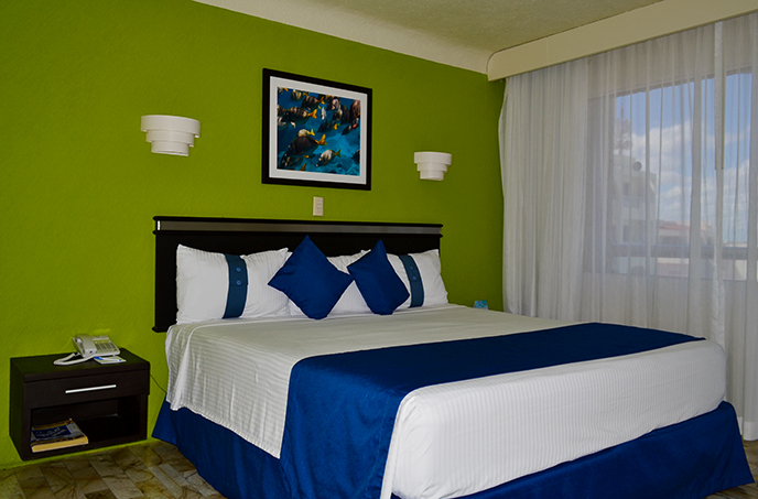Habitación hotel Aquamarina
