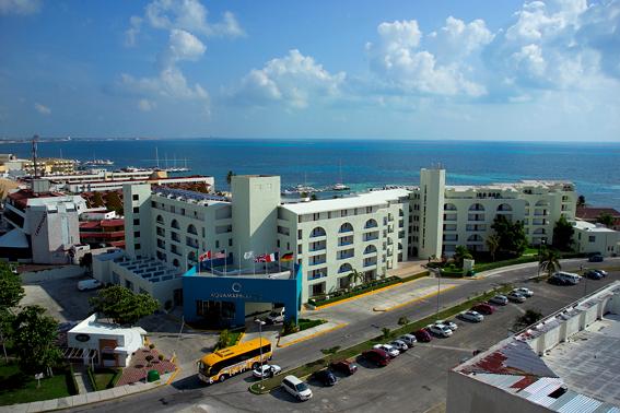Ubicacion hotel Aquamarina