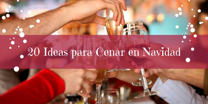with ideas para cena de navidad