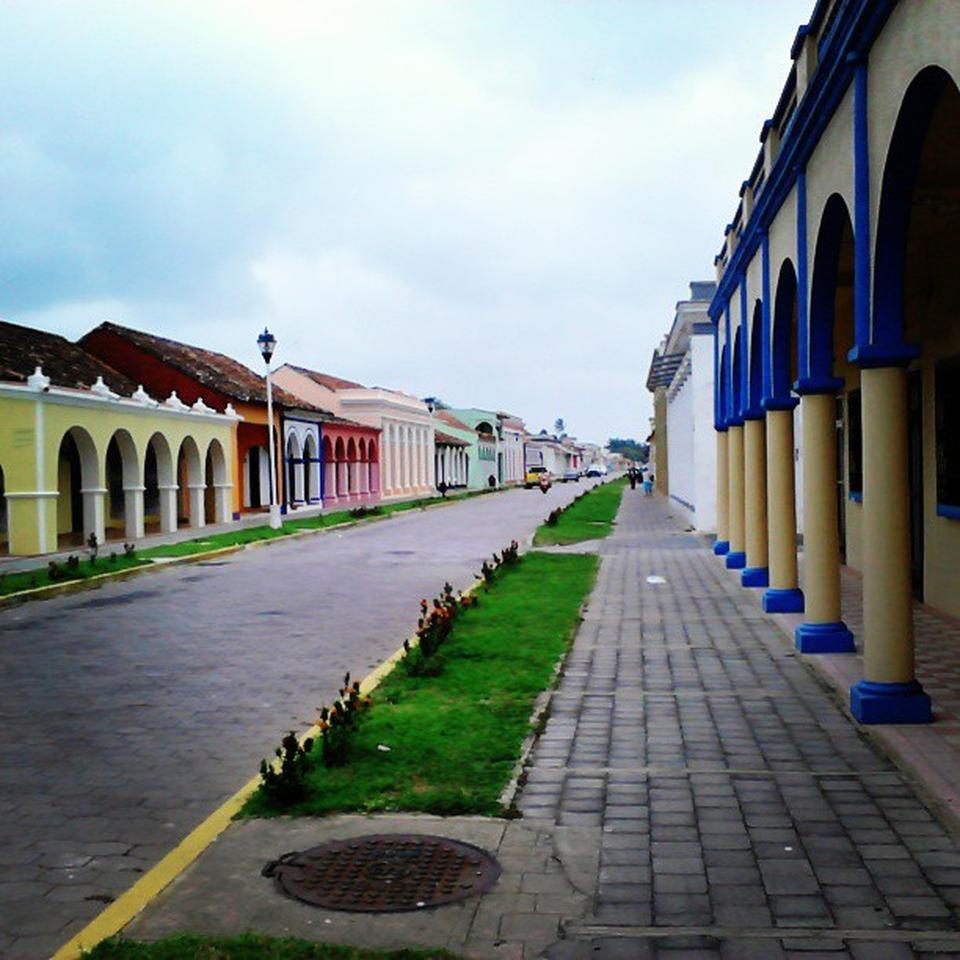 Calles de Tlacotalpan