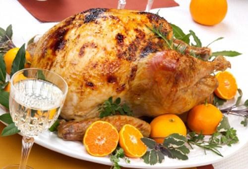 y aqu tienes otra idea ms de cmo preparar tu pavo para la cena de navidad esta ocasin o ms bien esta receta se trata de baar con jugo de mandarina