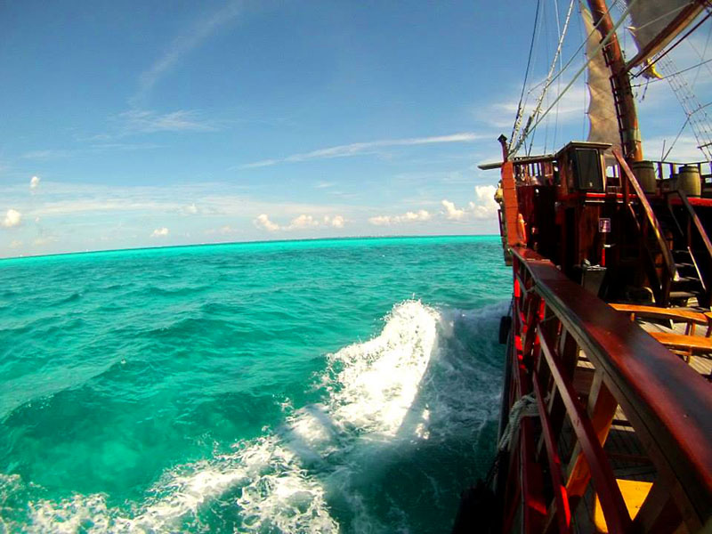 isla mujeres aventura pirata travesia