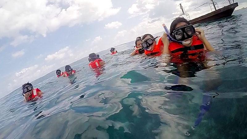 isla mujeres jolly roger snorquel