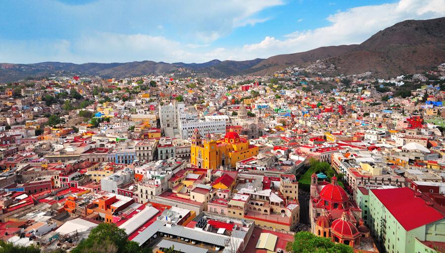 12 Destinos Coloridos de México
