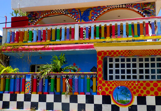 isla mujeres casa crayola
