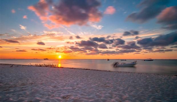 Atardecer Isla Mujeres