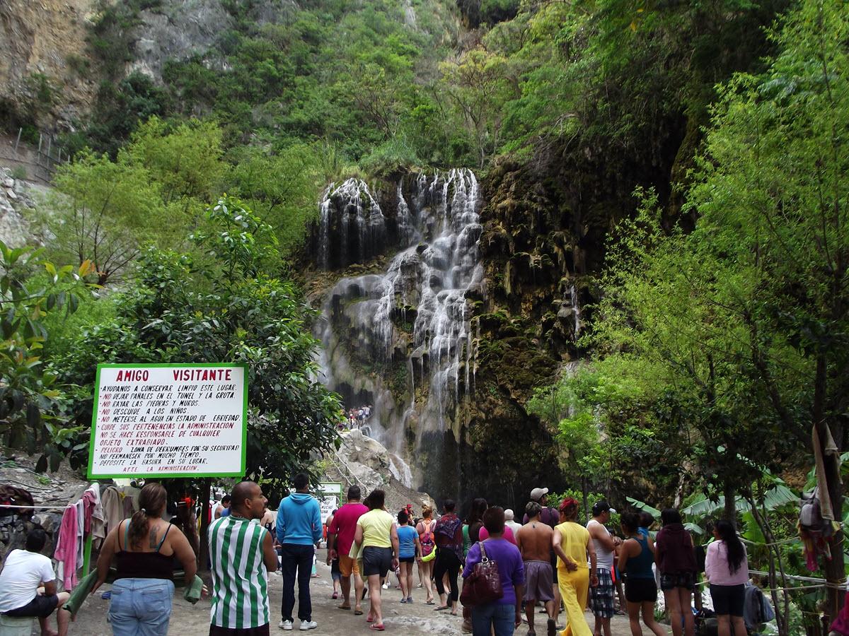 Cascadas Tolantongo