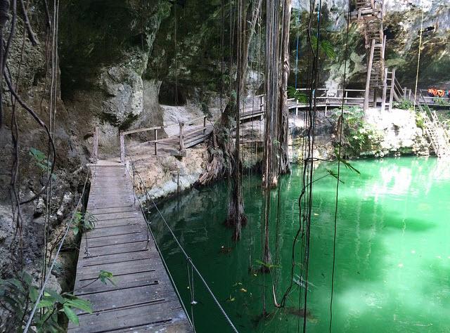 Cenote Xcanche Ek Balam