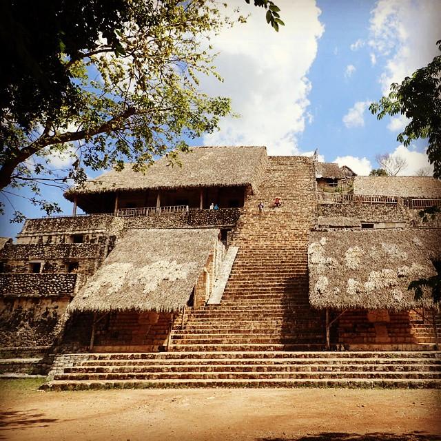 La Acropolis Ek Balam Yucatan
