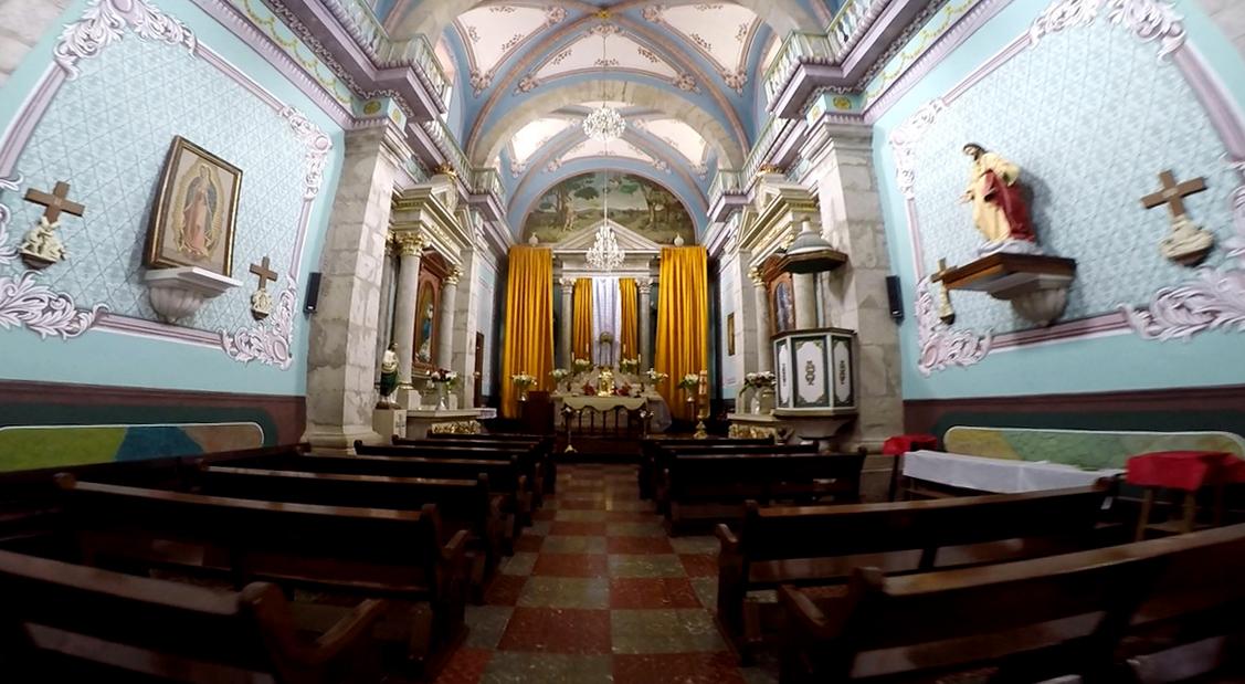 catedral san sebastian martir interior