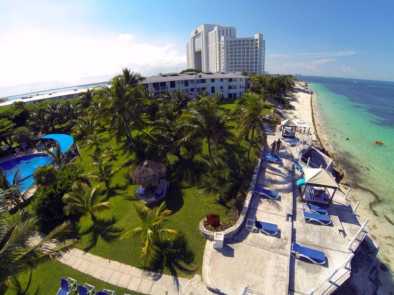 Hoteles en Cancun, hotel Dos Playas