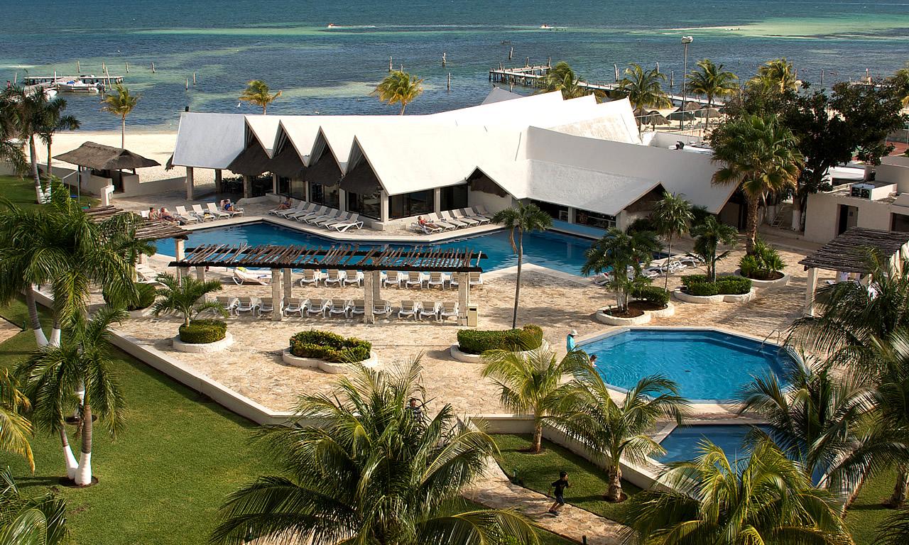 Hoteles Baratos en Cancún - Ocean Spa Hotel